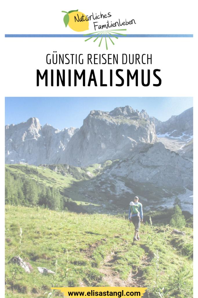 Minimalismus beim Reisen elisastangl.com