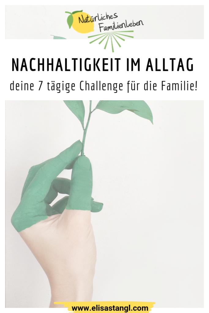 Nachhaltigkeit im Alltag Challenge elisastangl.com