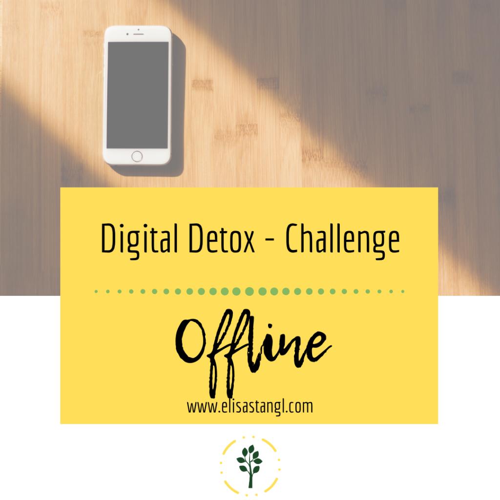 Digital Detox Challenge - Offline (Medienkonsum bei Kindern)