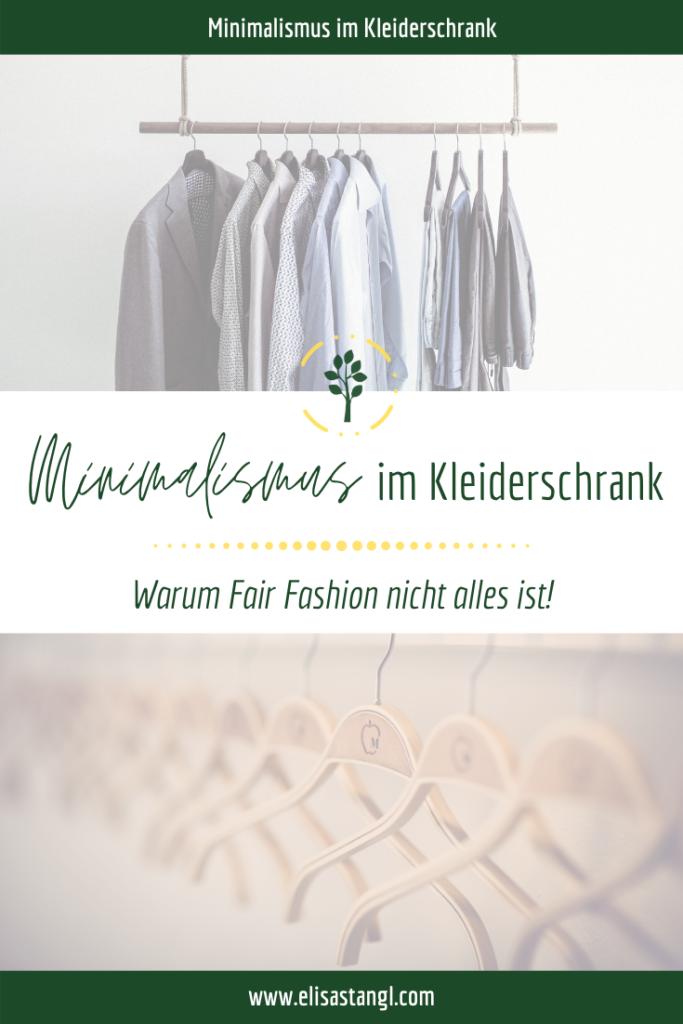 Fair Fashion - Minimalismus im Kleiderschrank