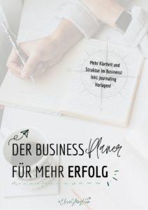 Business Planer für mehr Erfolg